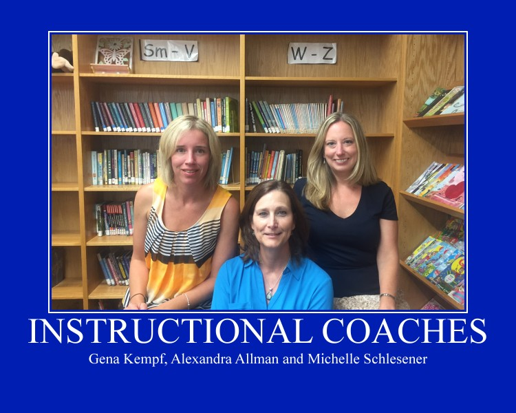 Photo of the instructional coaches